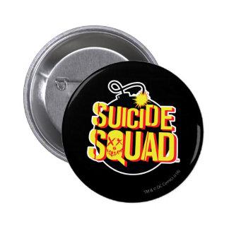 Suicide Squad | Bomb Logo 2 Inch Round Button