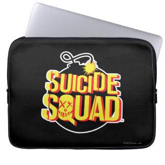 Suicide Squad | Bomb Logo Computer Sleeve