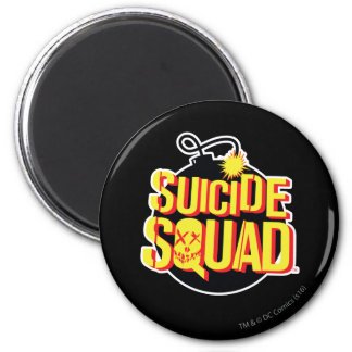 Suicide Squad | Bomb Logo Magnet