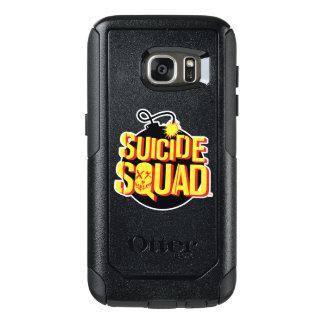 Suicide Squad   Bomb Logo OtterBox Samsung Galaxy S7 Case