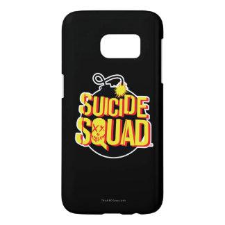 Suicide Squad   Bomb Logo Samsung Galaxy S7 Case