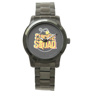 Suicide Squad | Bomb Logo Watches