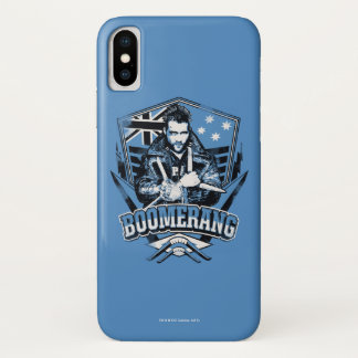 Suicide Squad | Boomerang Badge iPhone X Case