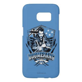 Suicide Squad   Boomerang Badge Samsung Galaxy S7 Case