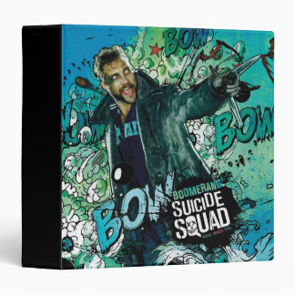 Suicide Squad | Boomerang Character Graffiti Vinyl Binder