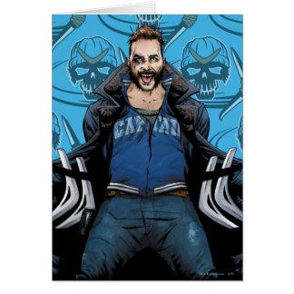Suicide Squad   Boomerang Comic Book Art Card