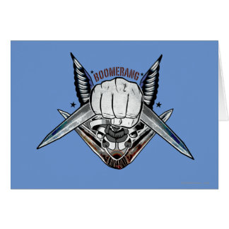 Suicide Squad | Boomerang Fist Tattoo Art Card