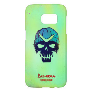 Suicide Squad | Boomerang Head Icon Samsung Galaxy S7 Case