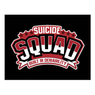 Suicide Squad   Built In Deniability Postcard