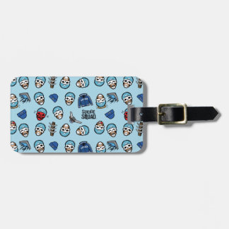 Suicide Squad | Captain Boomerang Emoji Pattern Luggage Tag