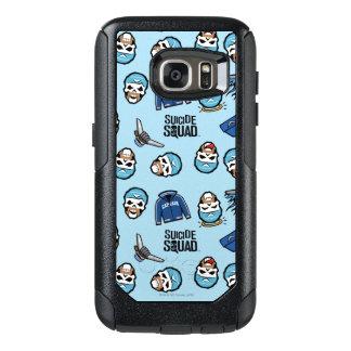 Suicide Squad | Captain Boomerang Emoji Pattern OtterBox Samsung Galaxy S7 Case