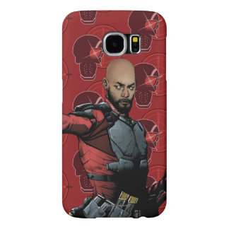 Suicide Squad | Deadshot Comic Book Art Samsung Galaxy S6 Cases