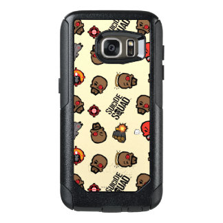 Suicide Squad | Deadshot Emoji Pattern OtterBox Samsung Galaxy S7 Case