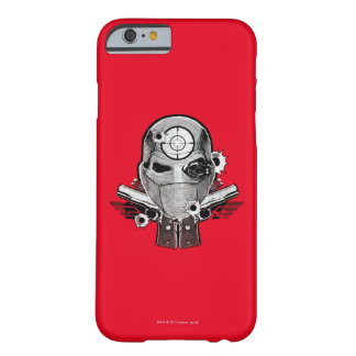 Suicide Squad | Deadshot Mask & Guns Tattoo Art Barely There iPhone 6 Case