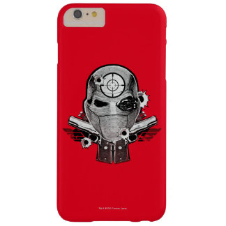 Suicide Squad | Deadshot Mask & Guns Tattoo Art Barely There iPhone 6 Plus Case