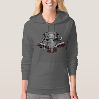 Suicide Squad | Deadshot Mask & Guns Tattoo Art Pullover