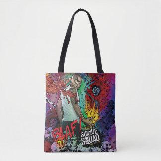 Suicide Squad | Diablo Character Graffiti Tote Bag