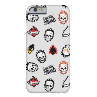 Suicide Squad | Diablo Emoji Pattern Barely There iPhone 6 Case