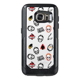 Suicide Squad | Diablo Emoji Pattern OtterBox Samsung Galaxy S7 Case