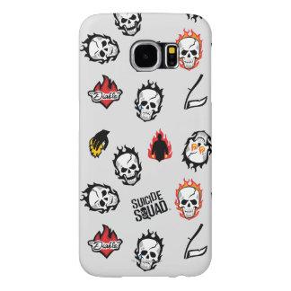 Suicide Squad | Diablo Emoji Pattern Samsung Galaxy S6 Cases