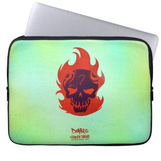 Suicide Squad | Diablo Head Icon Computer Sleeve
