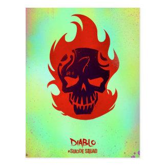 Suicide Squad | Diablo Head Icon Postcard