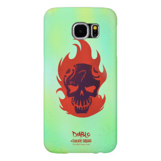 Suicide Squad | Diablo Head Icon Samsung Galaxy S6 Cases