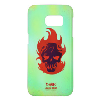Suicide Squad | Diablo Head Icon Samsung Galaxy S7 Case