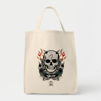 Suicide Squad   Diablo Skull & Flames Tattoo Art