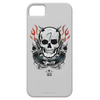 Suicide Squad | Diablo Skull & Flames Tattoo Art Case For The iPhone 5