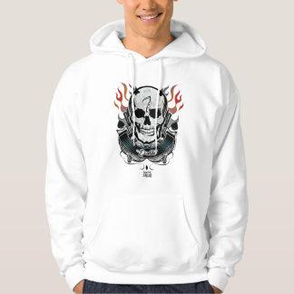 Suicide Squad | Diablo Skull & Flames Tattoo Art Hoodie