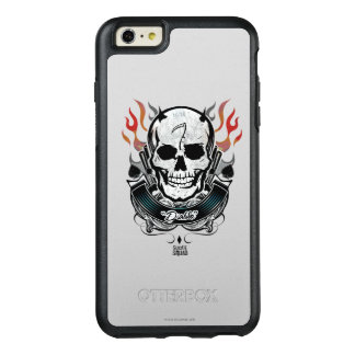 Suicide Squad | Diablo Skull & Flames Tattoo Art OtterBox iPhone 6/6s Plus Case
