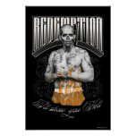 "Suicide Squad | El Diablo ""Redemption"" Tattoo Poster"