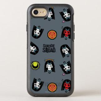 Suicide Squad | Enchantress Emoji Pattern OtterBox Symmetry iPhone 7 Case