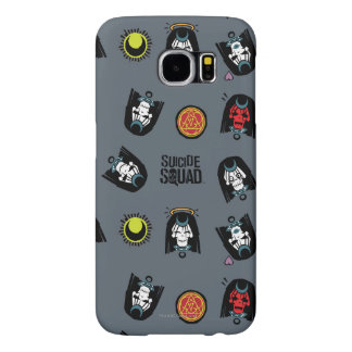 Suicide Squad | Enchantress Emoji Pattern Samsung Galaxy S6 Cases