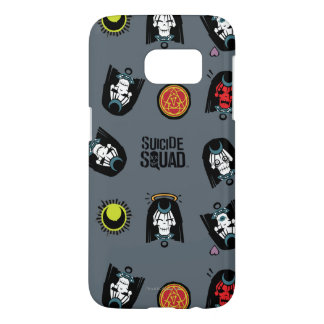 Suicide Squad | Enchantress Emoji Pattern Samsung Galaxy S7 Case