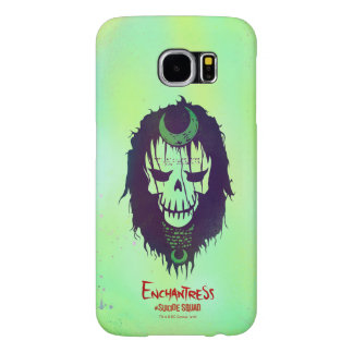 Suicide Squad | Enchantress Head Icon Samsung Galaxy S6 Cases