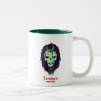 Suicide Squad | Enchantress Head Icon Two-Tone Coffee Mug