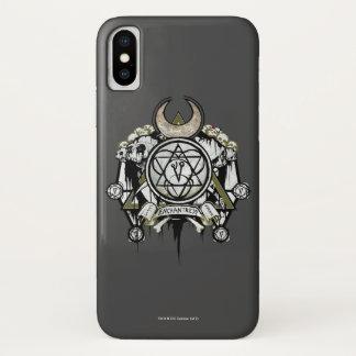Suicide Squad | Enchantress Symbols Tattoo Art iPhone X Case