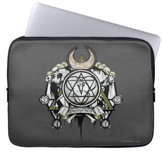 Suicide Squad | Enchantress Symbols Tattoo Art Laptop Sleeves