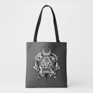 Suicide Squad | Enchantress Symbols Tattoo Art Tote Bag