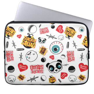 Suicide Squad | Friends Forever Pattern Laptop Computer Sleeves