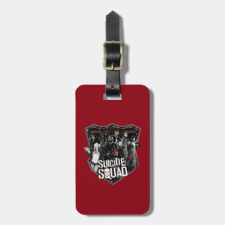 Suicide Squad | Group Badge Photo Luggage Tag