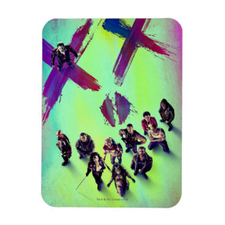 Suicide Squad | Group Poster Rectangular Photo Magnet