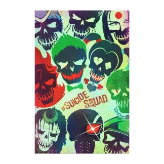 Suicide Squad   Group Toss Canvas Print