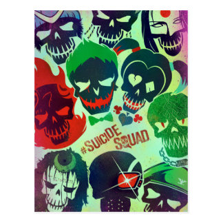 Suicide Squad | Group Toss Postcard
