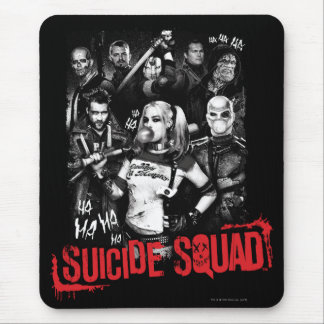 Suicide Squad | Grunge Group Photo Mouse Pad