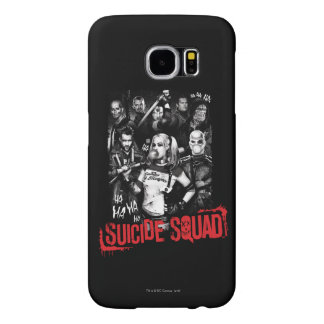 Suicide Squad | Grunge Group Photo Samsung Galaxy S6 Cases