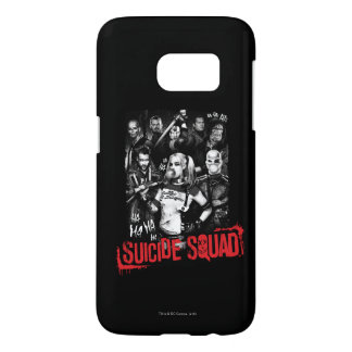 Suicide Squad | Grunge Group Photo Samsung Galaxy S7 Case