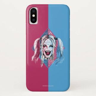 Suicide Squad | Harley Laugh iPhone X Case